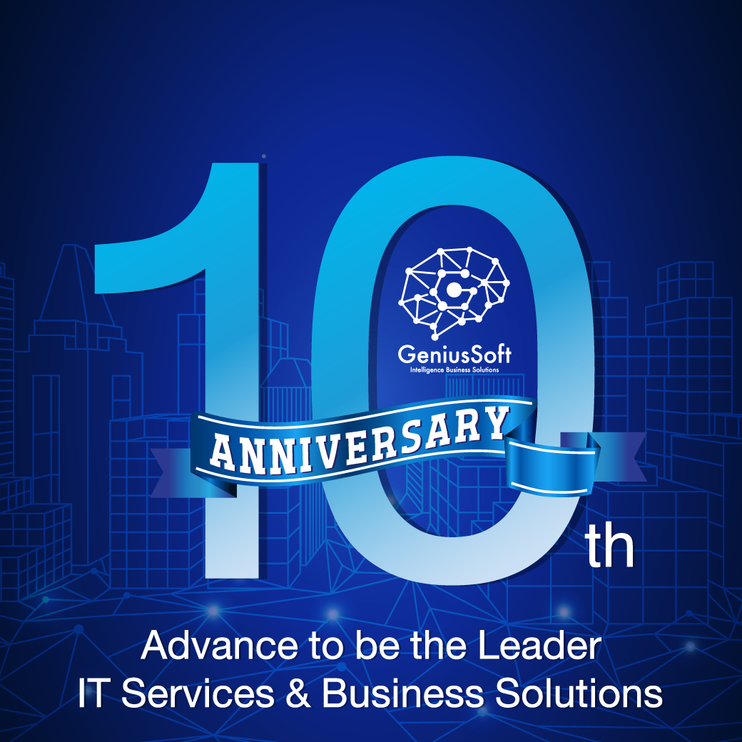 GeniusSoft 10th anniversary 2021 en