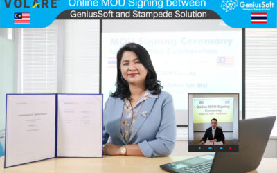 GeniusSoft จับมือพันธมิตรร่วมกับ Stampede Solution Sdn Bhd